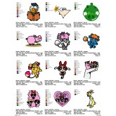 Package Cartoon Disney Embroidery Designs 231
